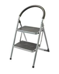 Workzone 2-Step Stool - Grey