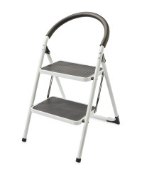 Workzone 2-Step Stool - White