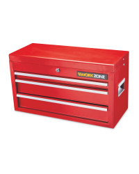Workzone 3-Drawer Tool Chest - Red