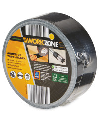 Workzone DIY Adhesive Tape - Black