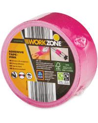 Workzone DIY Adhesive Tape - Pink