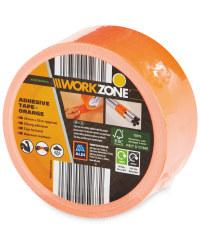 Workzone DIY Adhesive Tape - Orange