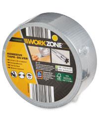 Workzone DIY Adhesive Tape - Silver