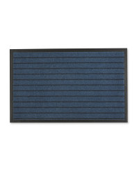 Workzone Dirt Resistant Stripe Mat - Blue
