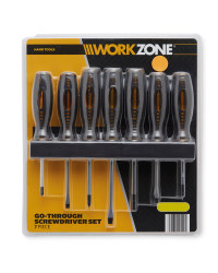 Workzone Go Through Screwdrivers