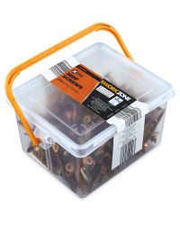 Workzone MDF Screws 250-Piece