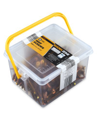 Workzone MDF Screws 400-Piece