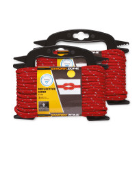 Workzone Red Reflective Rope 2 Pack