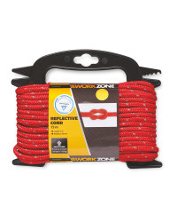 Workzone Red Reflective Rope