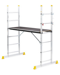 Workzone Scaffold and Ladder System
