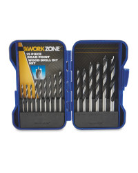 Workzone 15 Piece Wood Drill Bit Set