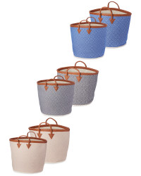 Woven Baskets 2 Pack