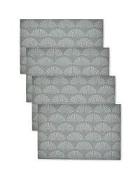 Woven Geo Print Placemats - 4 pack