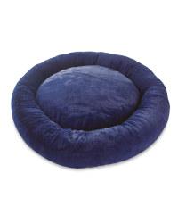 Extra Large Dog Bed - Navy Short Pile