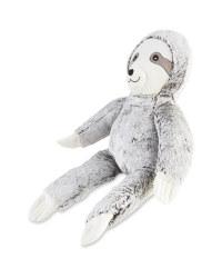 Oversized Sloth Plush Dog Toy
