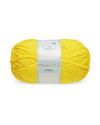So Crafty Yellow Chunky Yarn