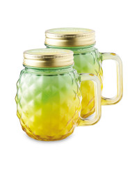 Yellow Citronella Candle 2 Pack