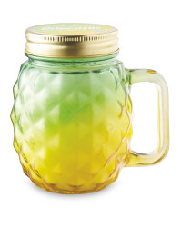 Yellow Citronella Candle