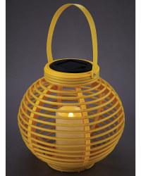 Garden Bright Yellow Solar Lantern