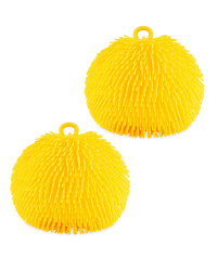 Yellow Giant Jiggly Balls 2 Pack