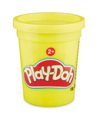 Yellow Play-Doh Single Tub