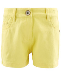 Lily & Dan Kids' Yellow Shorts