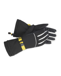 Inoc Yellow Ski Gloves