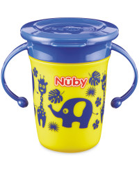 Yellow/Blue Nuby Mini 360° Sippy Cup