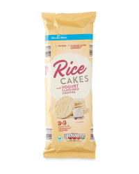 Yogurt Coated Rice Cakes