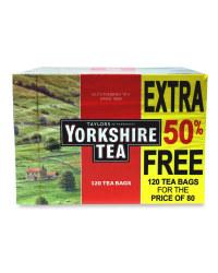 Yorkshire Tea Bags 120s
