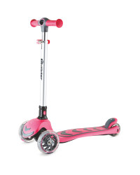 Yvolution Y Glide Scooter - Pink