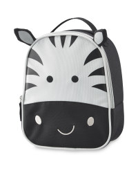 Zebra Character Shape Lunch Bag