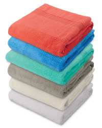Zero Twist Bath Towel