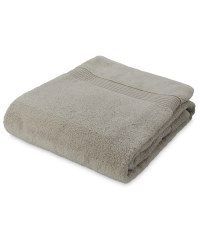 Zero Twist Bath Towel - Smoke