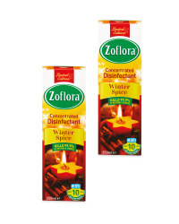 Zoflora Winter Disinfectant 2 Pack