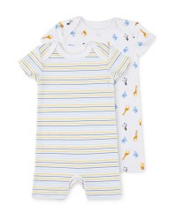 Lily & Dan Zoo Rompers 2 Pack