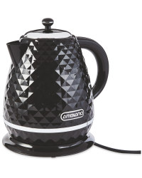 Ambiano Rapid Boil Textured Kettle - Black