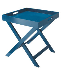Kirkton House Folding Butler Tray - Blue