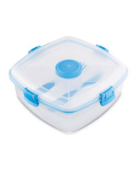 Sistema Salad Max To Go Lunch Box - Blue