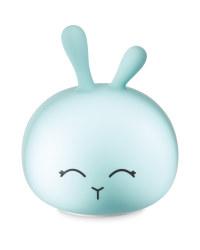 Rabbit Silicone Night Light - Blue