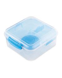 Sistema Bento Cube To Go Lunch Box - Blue