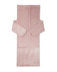 Kirkton House Blanket With Sleeves - Rose
