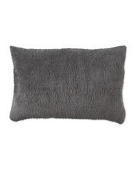 Kirkton House Fleece Pillow - Charcoal