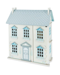 Little Town Wooden Doll's House - Cream