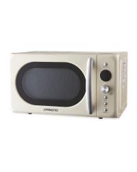 Ambiano Retro Microwave 700W - Cream