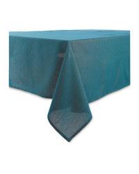 Sparkle Table Cloth 132 x 228cm - Emerald