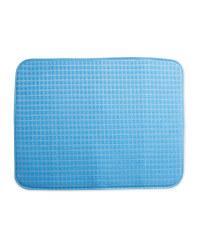Power Force Dish Drying Mat - Blue