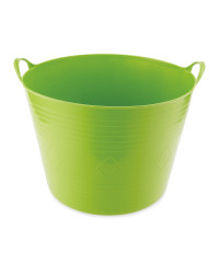 Gardenline 40 Litre Flex Garden Tub - Green