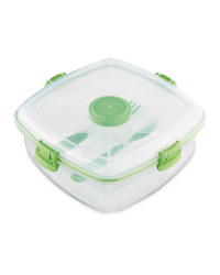 Sistema Salad Max To Go Lunch Box - Green