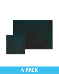 Rectangle Placemat & Coaster Set - Green
